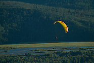 Paragliding- Jackson, Wyoming Photos - stock photos, fine art prints, photography