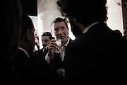 Ignazio Marino durante i festeggiamenti per l'elezione a nuovo sindaco di Roma. Roma, 10 giugno 2013. Christian Mantuano / OneShot