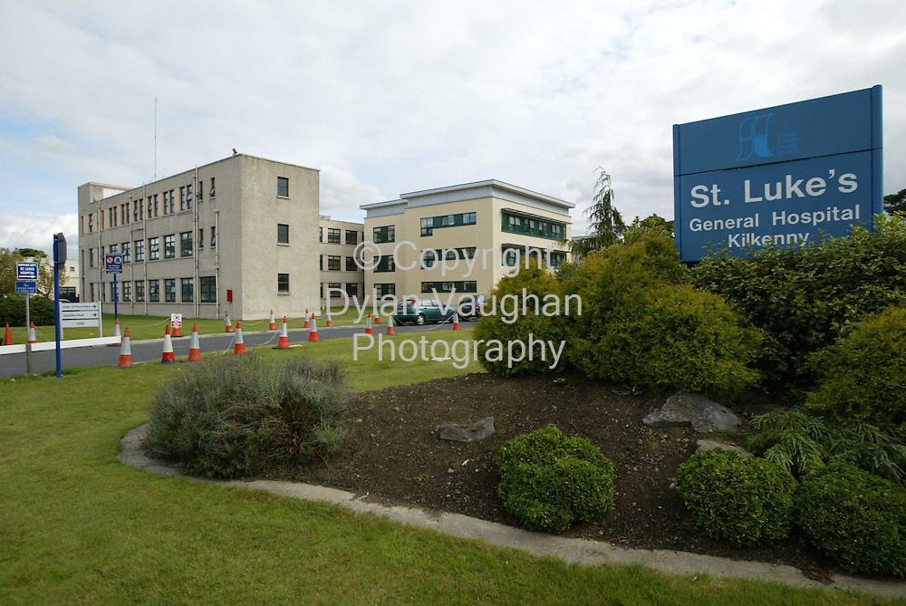 24/9/2003.St Lukes Hospital in Kilkenny..Picture Dylan Vaughan.
