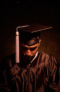 15456Portrait of graduate/cap & Gown with Money for Ohio Today cover 2002
