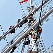 Pinsetokt Bergen - Lerwick Statsraad Lehmkuhl 2010