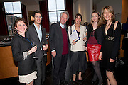 SOPHIE DE RIVAZ; JAMIE WALDEGRAVE; WILLIAM WALDEGRAVE; CAROLINE WALDEGRAVE; TANYA VON PREUSSEN; LISA WALDEGRAVE, Literary charity First Story fundraising dinner. Cafe Anglais. London. 10 May 2010. *** Local Caption *** -DO NOT ARCHIVE-© Copyright Photograph by Dafydd Jones. 248 Clapham Rd. London SW9 0PZ. Tel 0207 820 0771. www.dafjones.com.<br /> SOPHIE DE RIVAZ; JAMIE WALDEGRAVE; WILLIAM WALDEGRAVE; CAROLINE WALDEGRAVE; TANYA VON PREUSSEN; LISA WALDEGRAVE, Literary charity First Story fundraising dinner. Cafe Anglais. London. 10 May 2010.