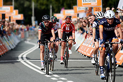 Kasia Niewiadoma (POL) finishes Boels Ladies Tour 2019 - Stage 5, a 154.8 km road race from Nijmegen to Arnhem, Netherlands on September 8, 2019. Photo by Sean Robinson/velofocus.com