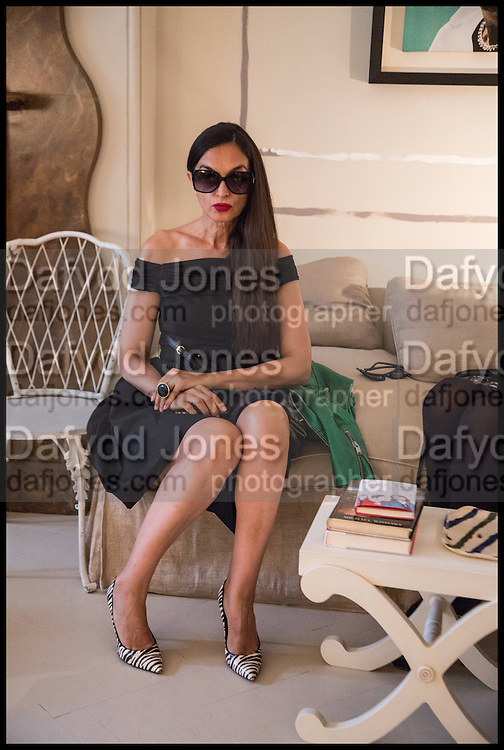 RUSHKA BERGMAN; A Nicky Haslam hosts a party to launch a book by  Maureen Footer 'George Stacey and the Creation of American Chic' . With a foreword by Mario Buatta. Kensington. London. 11 June 2014