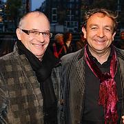 NLD/Amsteram/20121021- Premiere HEMA de Musical, Jon van Eerd en ????.