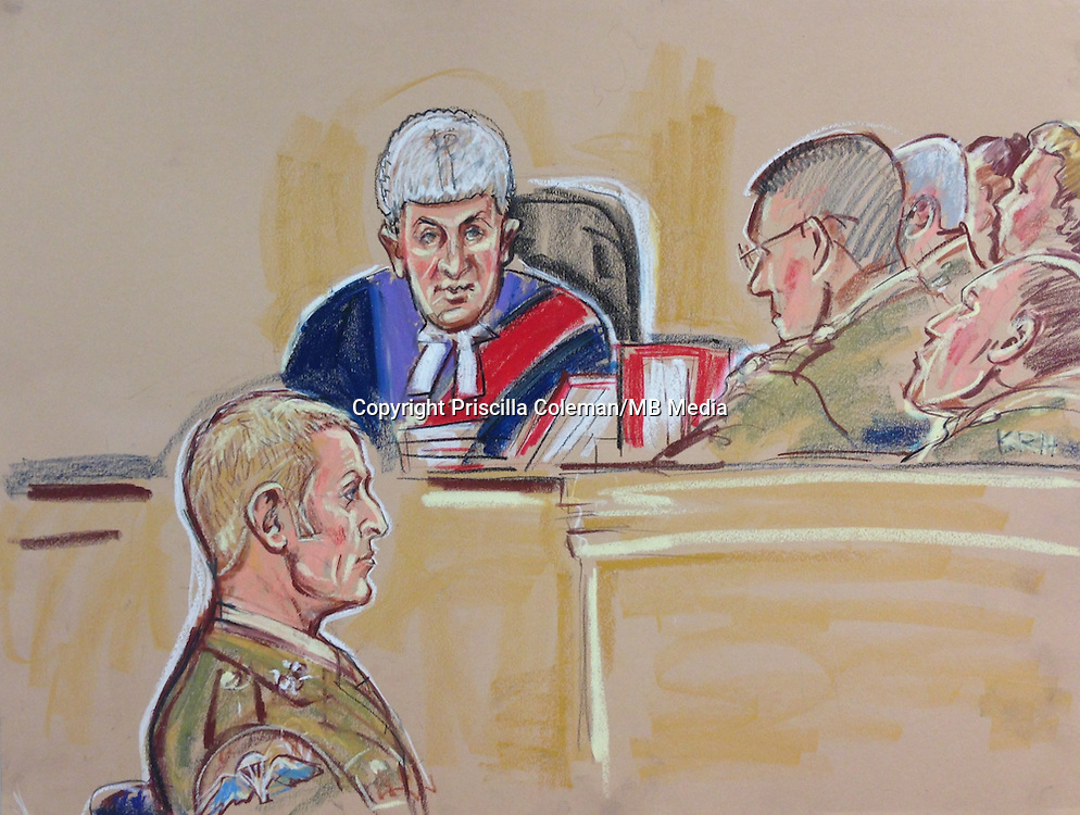 Court Martial at Bulford of SAS Sergeant Danny Nightingale, accused of bringing a pistol and ammunition back from Afghanistan. Claims memory loss