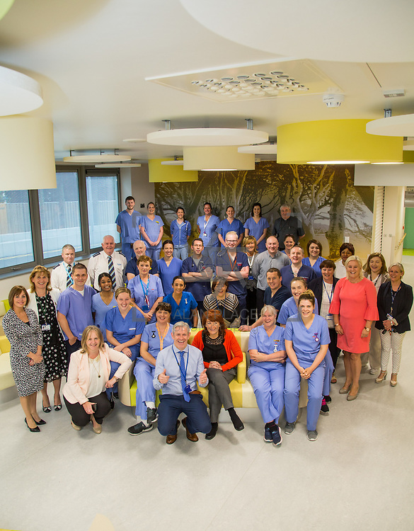 29.05. 2017.                                             <br /> IRELAND&rsquo;S largest and most advanced Emergency Department has opened this Monday at University Hospital Limerick.<br /> <br /> Pictured are the Emergency Department Team.<br /> <br /> <br /> A &euro;24 million project (development and equipment costs), the ED spans 3,850 square metres of floor space, over three times the size of the old department. In 2016, UHL had the busiest ED in the country, with over 64,000 attendances. Picture: Alan Place