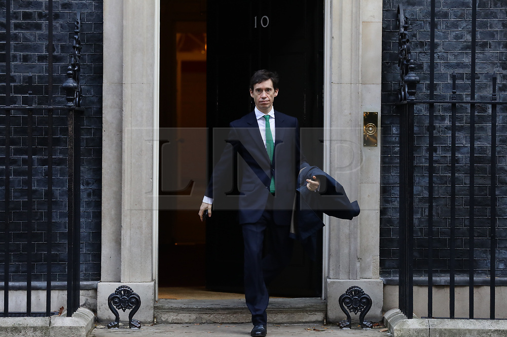 © Licensed to London News Pictures. 16/10/2018. London, UK. Rory Stewart MP seen leaving 10 Downing Street. Photo credit: Rob Pinney/LNP