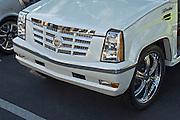 Golf Cart White Cadillac Grille, Custom, Classic, Unique,