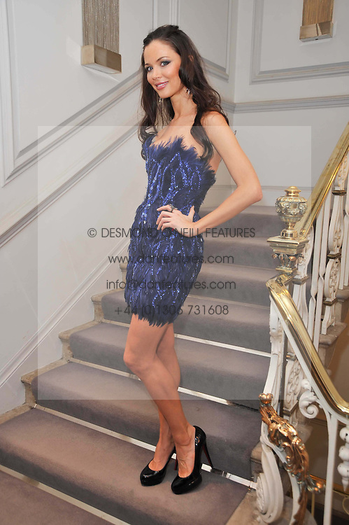 GEORGINA CHAPMAN at a party to launch the Georgina Chapman collection for Garrard held at Garrard, Albermarle Street, London on 4th November 2009.
