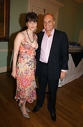 NICHOLAS & GEORGIA COLERIDGE at a party to celebrate the publication of 'A Much Married Man' by Nicholas Coleridge held at the ESU, Dartmouth House,  37 Charles Street, London W1 on 4th May 2006.<br /><br />NON EXCLUSIVE - WORLD RIGHTS