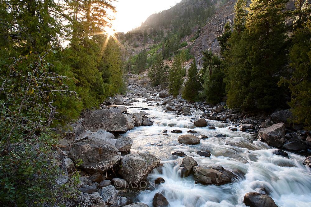 Icicle Creek, Washington.