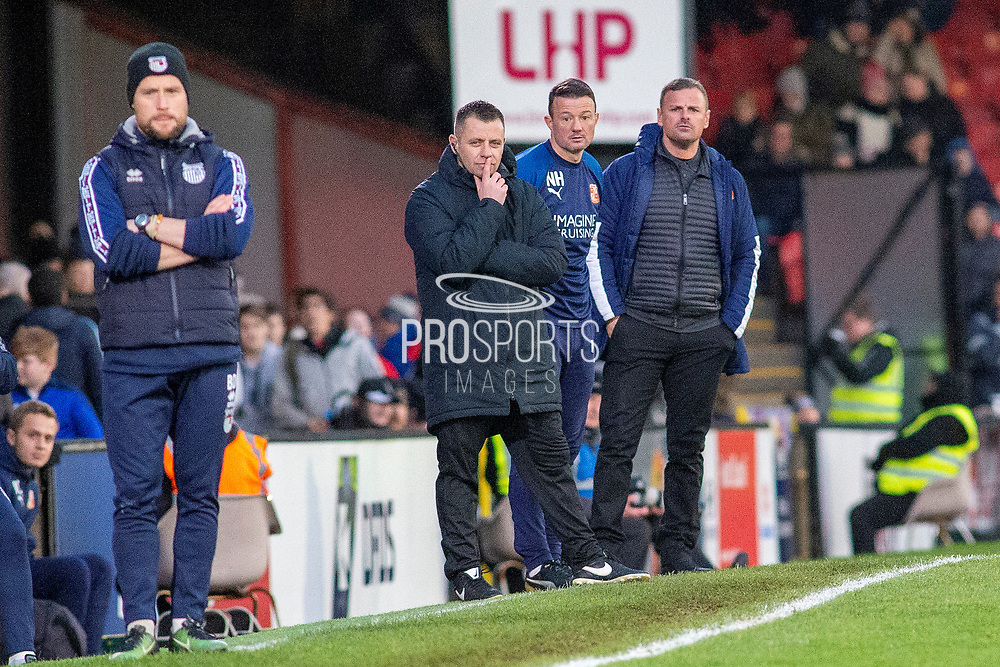 Swindon Town Manager Richie Wellens during the EFL Sky Bet League 2 match between Grimsby Town FC and Swindon Town at Blundell Park, Grimsby, United Kingdom on 7 December 2019.