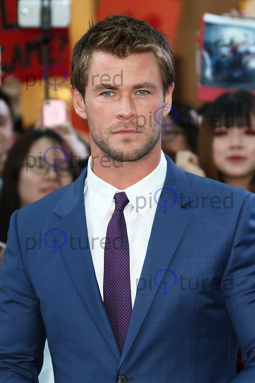 Chris Hemsworth, The Avengers: Age of Ultron - European Film Premiere, Westfield Shopping Centre, London UK, 21 April 2015, Photo by Richard Goldschmidt