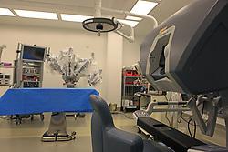 Stock photo of a robotics lab