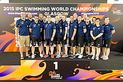 Team GB GBR at 2015 IPC Swimming World Championships -