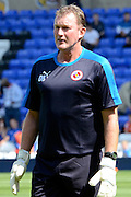 Reading Goalkeeper coach Dave Beasant during the Sky Bet Championship match between Birmingham City and Reading at St Andrews, Birmingham, England on 8 August 2015. Photo by Alan Franklin.
