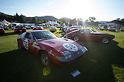 August 14-16, 2012 - Pebble Beach / Monterey Car Week. Ferrari's at the Quail Gathering
