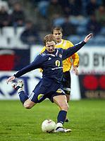 Fotball, 13. mai 2003, NM fotball herrer, Strømsgodset-Bærum, Paal Christian Alsaker, Strømsgodset