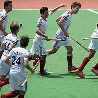 MELBOURNE - Champions Trophy men 2012<br /> Germany v New Zealand <br /> foto: goals Germany<br /> FFU PRESS AGENCY COPYRIGHT FRANK UIJLENBROEK