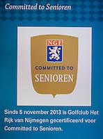 GROESBEEK - COMMITTED TO SENIOREN op Rijk van Nijmegen . FOTO KOEN SUYK.