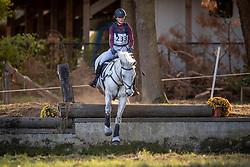 Van Dijck Louise, BEL, Gasmann B van het Juxschot<br /> LRV Ponie cross - Zoersel 2018<br /> © Hippo Foto - Dirk Caremans<br /> 28/10/2018