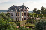 Rokokoschloss mit Garten, Dornburger Schlösser, Dornburg, Thüringen, Deutschland | Rokoko palace and garden, Dornburg castles, Dornburg, Thuringia, Germany