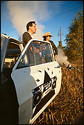 The KLF, Bill Drumond and Jimmy Cauty, Sweden late 1980s