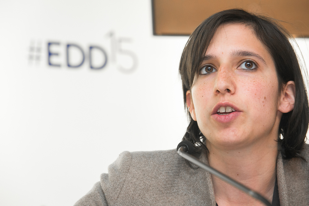 04 June 2015 - Belgium - Brussels - European Development Days - EDD - Financing - Creating a fairer and more sustainable international tax system - What is the EU's role? - Elly Schlein , Member of the European Parliament  © European Union