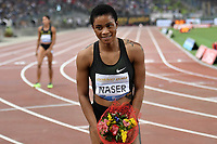 Salwa Eid NASER BRN Winner 400m Women <br /> Roma 31-05-2018 Stadio Olimpico  <br /> Iaaf Diamond League Golden Gala <br /> Athletic Meeting <br /> Foto Andrea Staccioli/Insidefoto