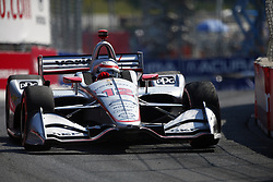July 15, 2018 - Toronto, Ontario, Canada - WILL POWER (12) of Australia battles for position during the Honda Indy Toronto at Streets of Toronto in Toronto, Ontario. (Credit Image: © Justin R. Noe Asp Inc/ASP via ZUMA Wire)