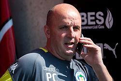Wigan Athletic manager Paul Cook - Mandatory by-line: Robbie Stephenson/JMP - 21/04/2018 - FOOTBALL - Highbury Stadium - Fleetwood, England - Fleetwood Town v Wigan Athletic - Sky Bet League One