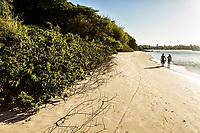 Praia de Canajurê. Florianópolis, Santa Catarina, Brasil. / Canajure Beach. Florianopolis, Santa Catarina, Brazil.