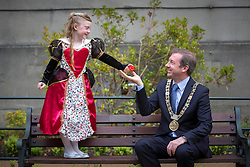 Repro Free: Dublin 14/05/2014<br /> Young Queen of Hearts Lucy O&rsquo;Toole (aged 6), joined The Lord Mayor of Dublin, Ois&iacute;n Quinn to launch this year&rsquo;s Happy Hearts Appeal on behalf of the Irish Heart Foundation supported by SuperValu. The Happy Hearts Appeal is celebrating its 25th year of fundraising to fight heart disease and stroke and it starts, 15th May running until Saturday, 17th May. Over the three days, more than 3,000 volunteers together with SuperValu stores, will be selling happy heart badges for &euro;2 to raise funds to save lives from sudden cardiac arrest and help the Irish Heart Foundation reach it&rsquo;s &euro;500,000 target to deliver a new national CPR education campaign later this autumn. www.happyhearts.ie Picture Andres Poveda<br />  <br /> <br /> For more information contact Caroline Cullen, Communications Manager, Irish Heart Foundation, DL: 01-6346908, Mob: 086-6049282.