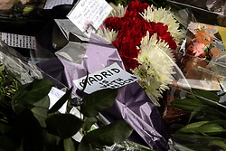 UK ENGLAND LONDON 9JUL05 - Details of cards and memorials laid down at Kings Cross station in central London. At least 49 people have been killed and hundreds injured after four blasts on the Underground network and a double-decker bus in London...jre/Photo by Jiri Rezac ..© Jiri Rezac 2005..Contact: +44 (0) 7050 110 417.Mobile:  +44 (0) 7801 337 683.Office:  +44 (0) 20 8968 9635..Email:   jiri@jirirezac.com.Web:    www.jirirezac.com..© All images Jiri Rezac 2005 - All rights reserved.