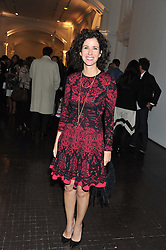 MOLLIE DENT-BROCKLEHURST at a party to celebrate the launch of the new gallery Pace at 6 Burlington Gardens, London on 3rd October 2012.