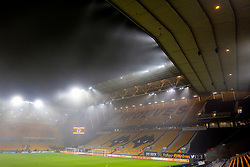 WOLVERHAMPTON, ENGLAND - Thursday, January 23, 2020: Fog descends before the FA Premier League match between Wolverhampton Wanderers FC and Liverpool FC at Molineux Stadium. (Pic by David Rawcliffe/Propaganda)