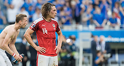23.06.2016, Stade de France, St. Denis, FRA, UEFA Euro 2016, Island vs Oesterreich, Gruppe F, im Bild Julian Baumgartlinger (AUT) // Julian Baumgartlinger (AUT) during Group F match between Iceland and Austria of the UEFA EURO 2016 France at the Stade de France in St. Denis, France on 2016/06/23. EXPA Pictures © 2016, PhotoCredit: EXPA/ JFK