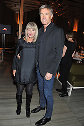 LESLIE ASH and LEE CHAPMAN at the Pig Business Fundraiser, Sake No Hana, St.James's, London on 26th September 2012.