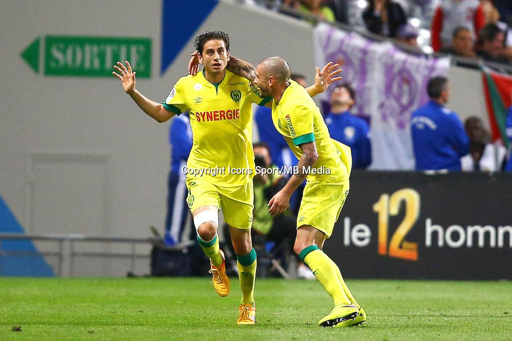 Joie Alejandro Bedoya - 25.04.2015 - Toulouse / Nantes - 34eme journee de Ligue 1<br />Photo : Manuel Blondeau / Icon Sport