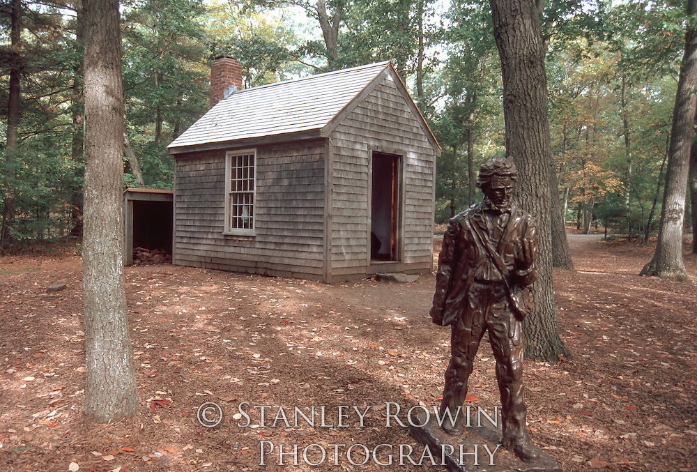 David Thoreau cabin, Walden Pond, Concord MA