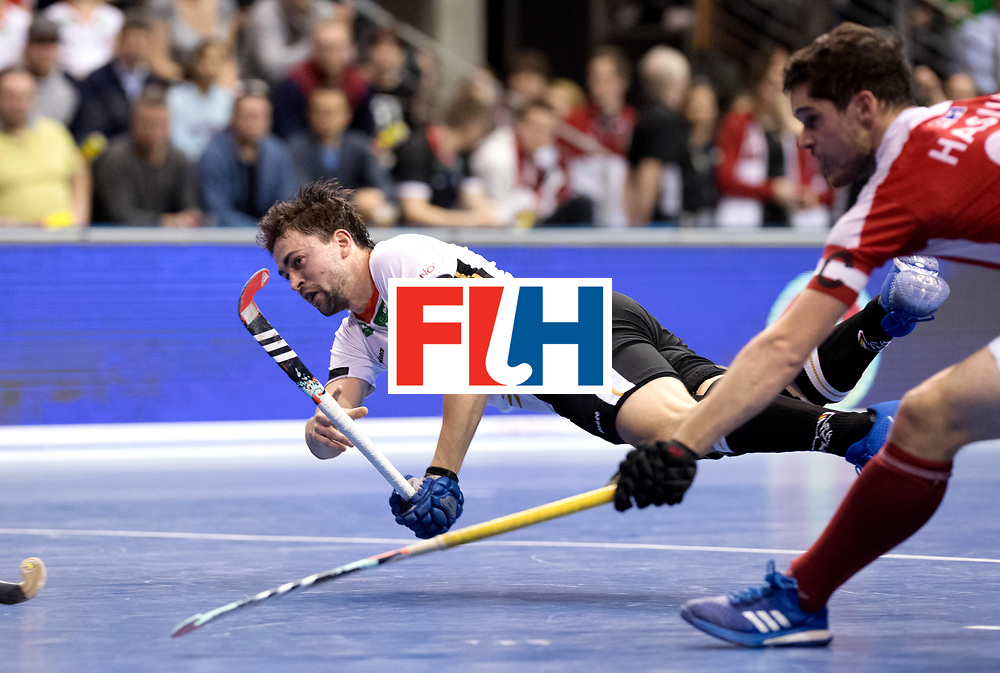 BERLIN - Indoor Hockey World Cup<br /> Final: Germany - Austria<br /> foto: Tobias Hauke.<br /> WORLDSPORTPICS COPYRIGHT FRANK UIJLENBROEK