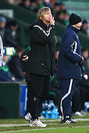 Yeovil - Saturday December 12th, 2009:  Yeovil Manager Terry Skiverton during the Coca Cola League One match at Huish Park, Yeovil. (Pic by Paul Chesterton/Focus Images)