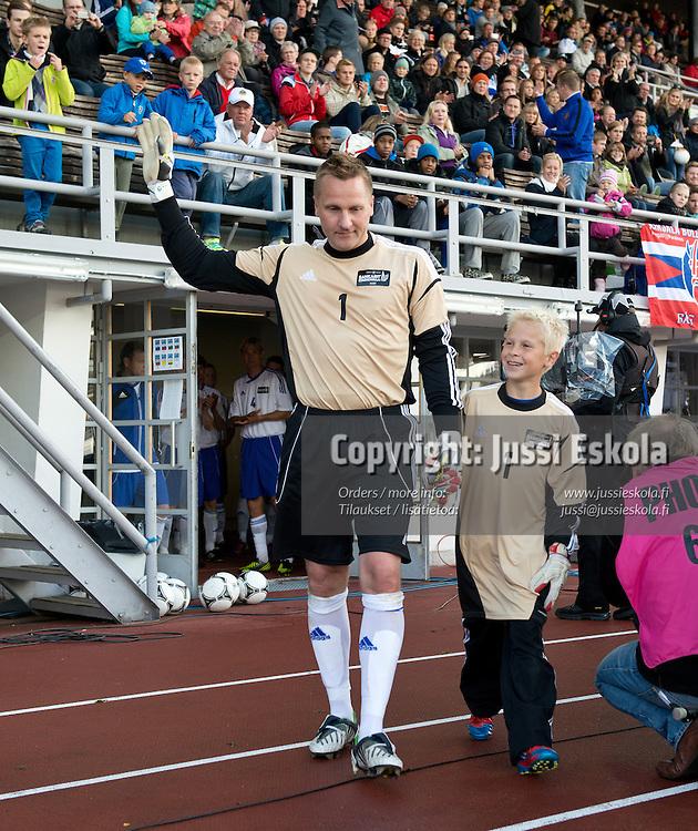 Antti ja Matias Niemi. Respect-ottelu. Helsinki 8.9.2012. Photo: Jussi Eskola