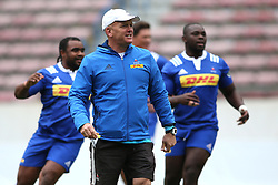 Western Province coach John Dobson during Western Province training session held at Newlands Rugby Stadium in Cape Town, South Africa on 15th September 2016.<br /> <br /> Photo by Shaun Roy/Real Time Images