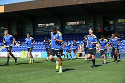 Bristol Rovers players warm up - Mandatory by-line: Arron Gent/JMP - 21/09/2019 - FOOTBALL - Cherry Red Records Stadium - Kingston upon Thames, England - AFC Wimbledon v Bristol Rovers - Sky Bet League One