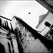 DAILY VENEZUELA / VENEZUELA COTIDIANA.Church San Antonio de Padua, Clarines, Anzoategui State Venezuela 2003.(Copyright © Aaron Sosa)