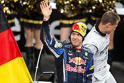 27.11.2010, Esprit Arena, Düsseldorf, GER, Race of Champions, im Bild Sebastian Vettel (GER, F1 Red Bull Racing), EXPA Pictures © 2010, PhotoCredit: EXPA/ A. Neis
