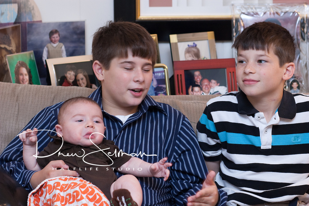 Images from the Baby Naming of Evan Reise