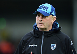 Vern Cotter head coach of Montpellier looks on  - Mandatory by-line: Alex Davidson/JMP - 13/01/2018 - RUGBY - Sandy Park Stadium - Exeter, England - Exeter Chiefs v Montpellier - European Rugby Champions Cup